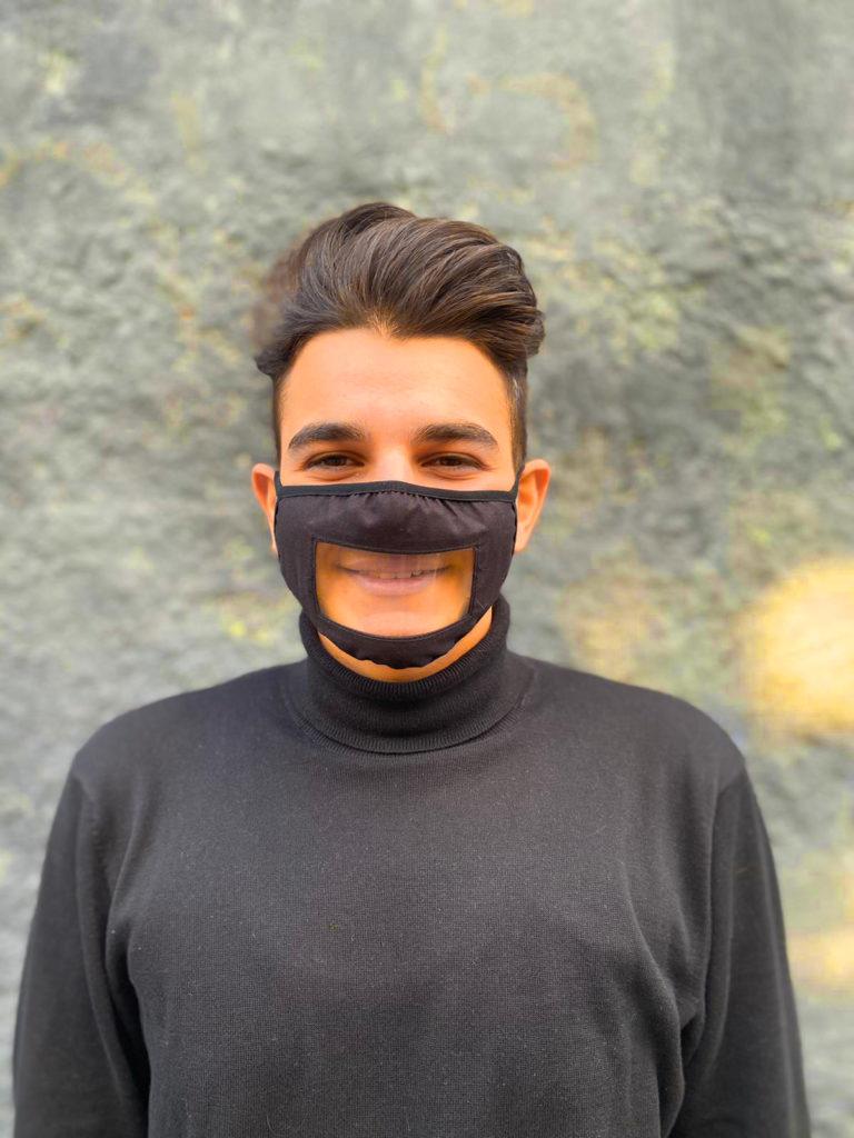 Mundschutz Hygiene Maske Transparent